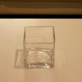 Dry Hire Items - Cube Large, Small and Mini glass cube