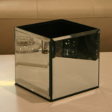 Dry Hire Items - Cube Medium mirrored cube