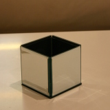 Dry Hire Items - Cube Small mirrored cube