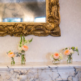 reception-flowers - RG120 Mantlepiece at Dunbar House